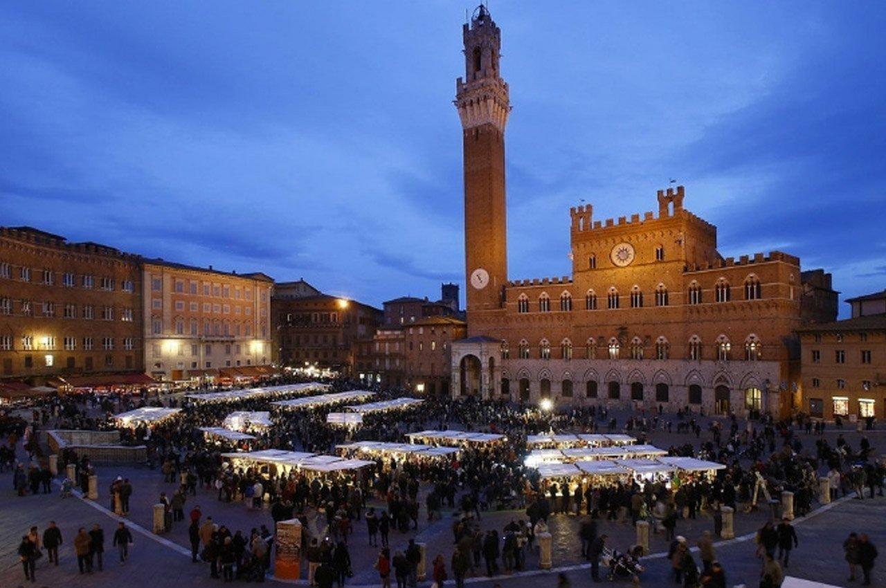 Offerta Mercato del Campo, 7 e 8 dicembre, Siena